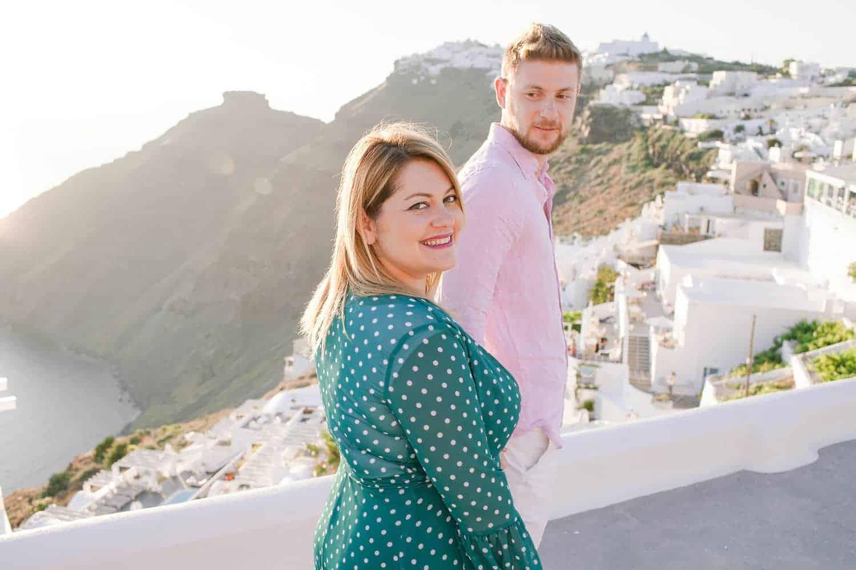 Flitterwochen in Santorini Hochzeitsfotograf Berlin Vasil Bituni