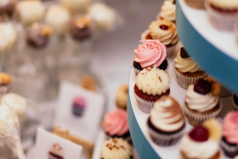 tigertörtchen Cupcakes Schloss Wulkow Hochzeit