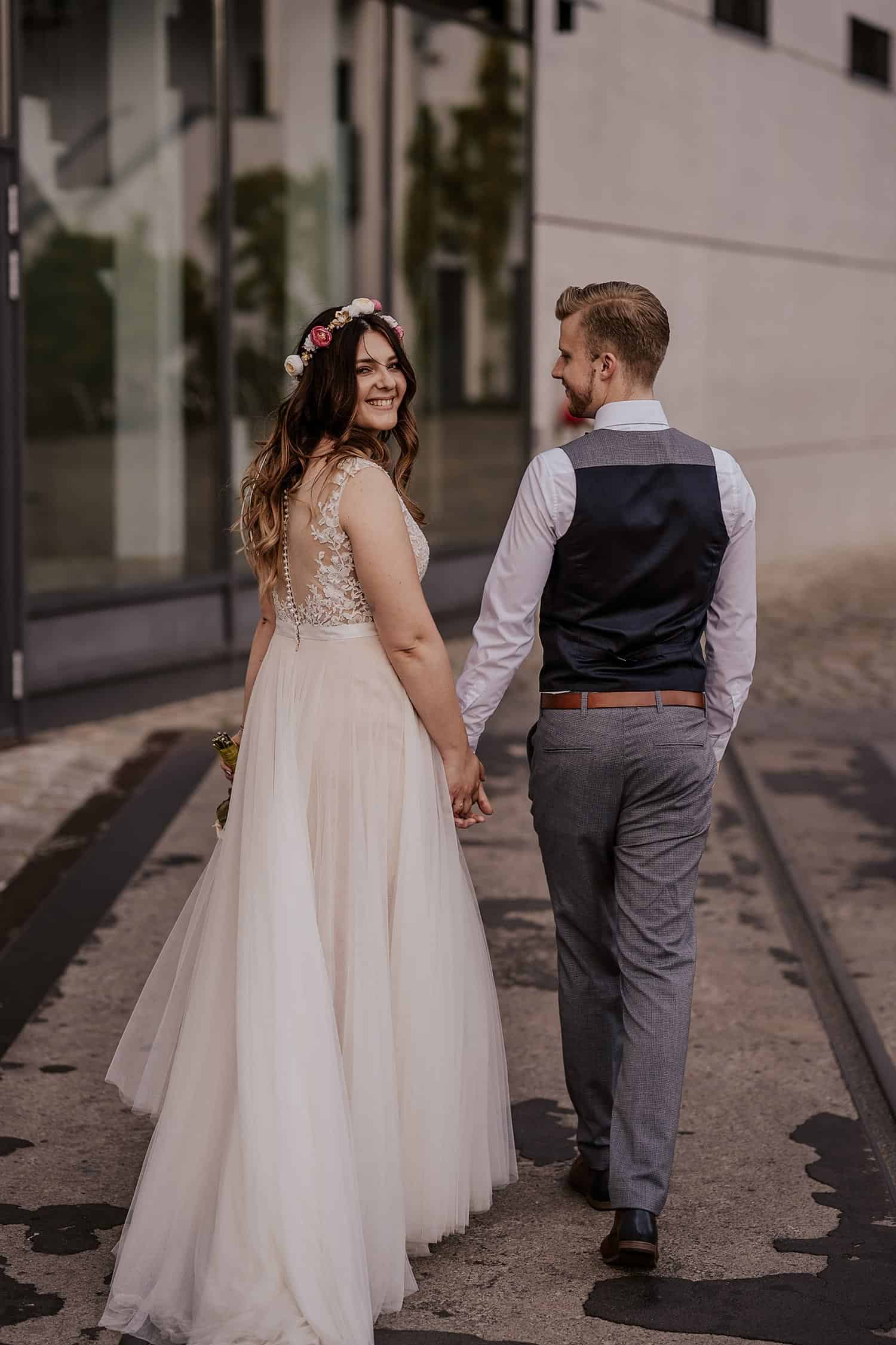 Hochzeit am Pier 13 Berlin - Hochzeitsfotograf Berlin Vasil Bituni