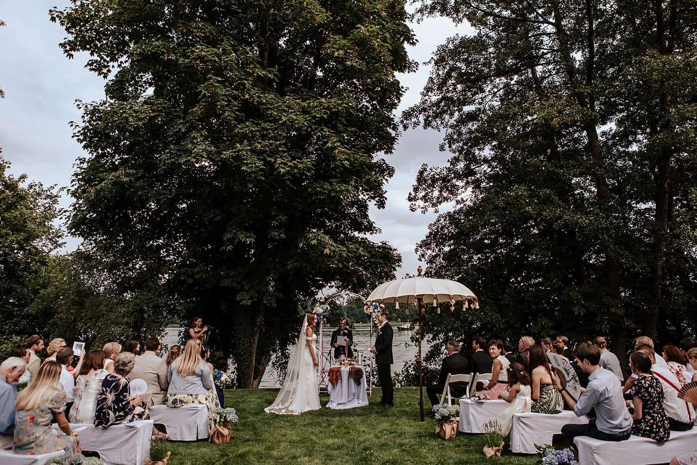 Eibenhof Bad Saarow Hochzeit Zeremonie,