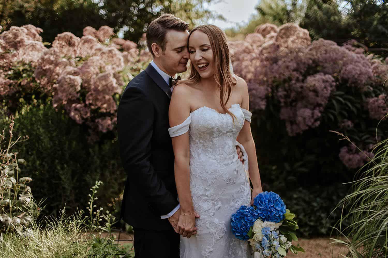 Bräutigam und Braut paar fotos,