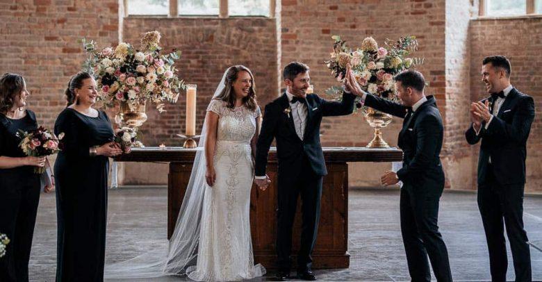 Parochialkirche Hochzeit Berlin Hochzeitsfotografie Kirchliche Trauung